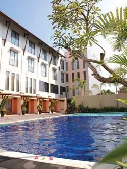 The Grand Santhi Hotel Pool