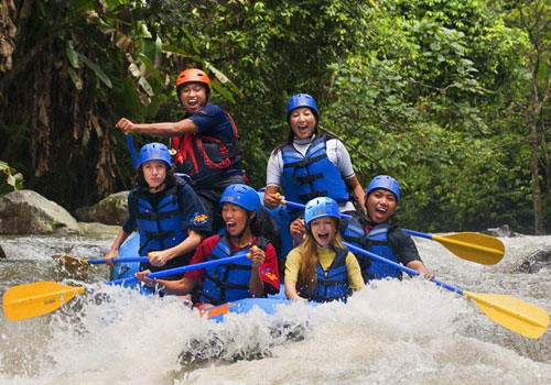 Bali Rafting Fun Game