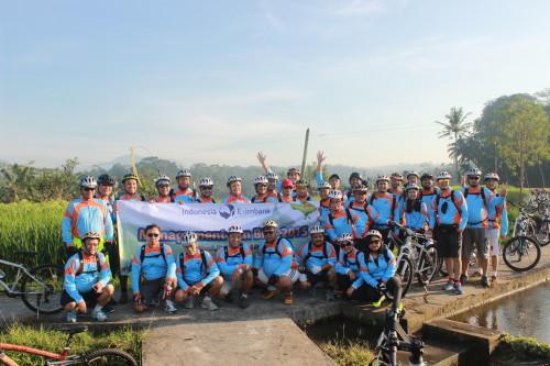 Ubud Cycling Indonesia Exim Bank
