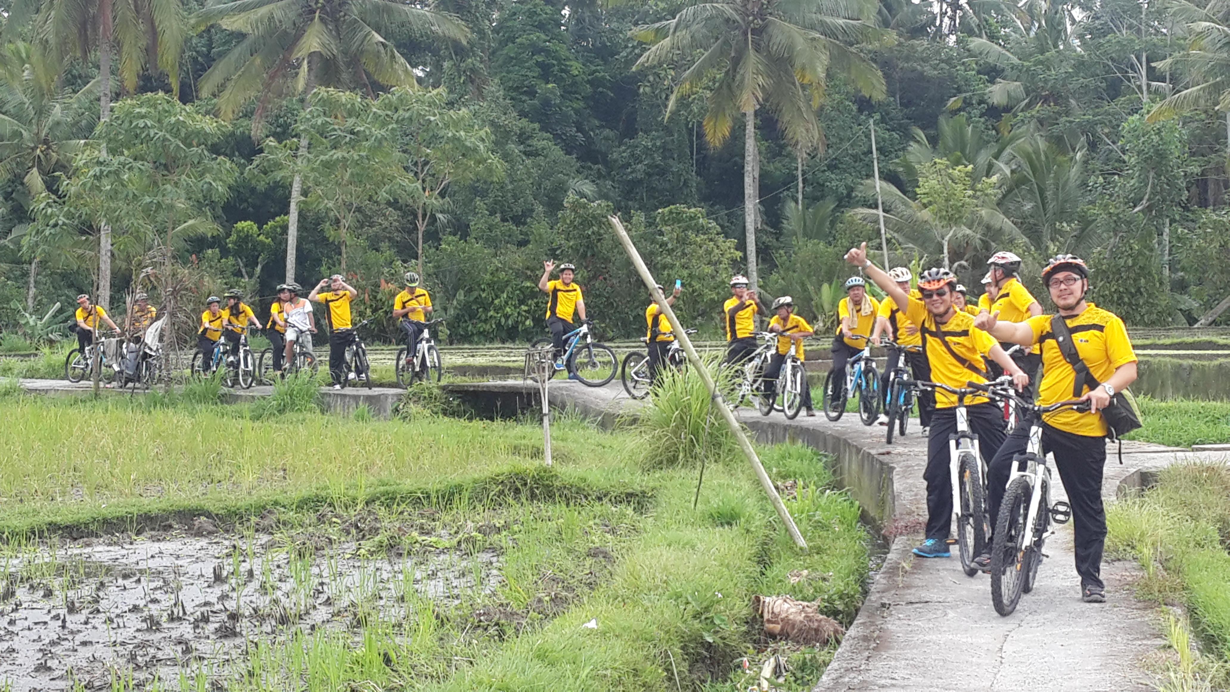 bersepeda di Ubud balitourmurah.com