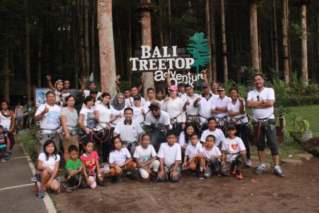 Bali Treetop Team Building balitourmurah.com