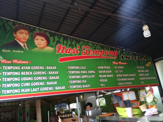Nasi Tempong Indra Kuta