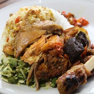 Warung Nasi Ayam Ibu Mangku,